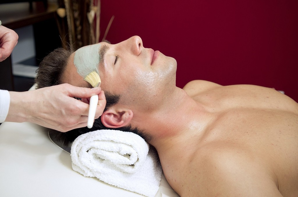 spa for men Facial